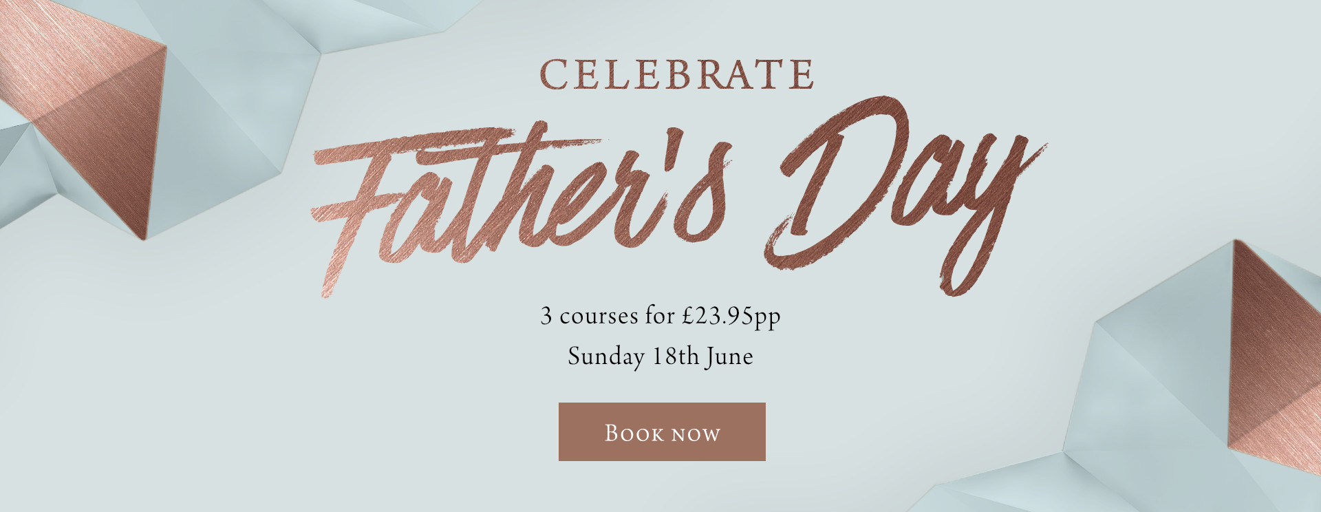 Father's Day at The Devon Doorway - Book now